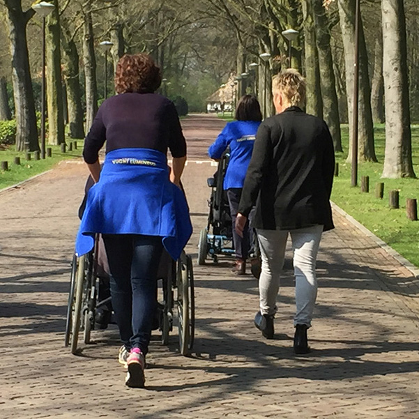 Wandeling Soroptimist Vught Lumineus bij Huize Boswijk